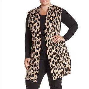 Cheetah Vest Sweater